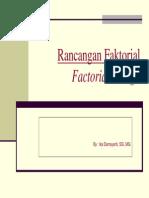 7 Ed Rancangan Faktorial