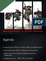 Becoming a ZFS Ninja
