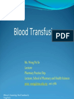 Blood Tranfusion Ppt