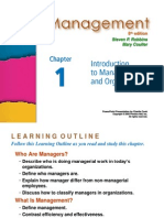 1-Introduction to Management and Organization