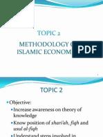 Methodology of Islamic Economics