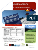 Summits Africa Newsletter Qurarter 4 - ON TOP!