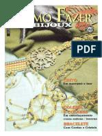 Artesanato -Bijuteria - como fazer bijoux