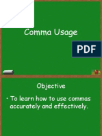 Comma Rules - Fischer