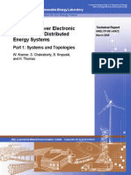 Advanced Power Electronic Interfaces for Distributed Energy Systems