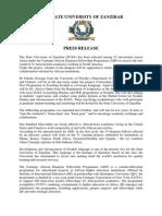Press Release - CADFP