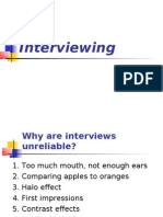 Interviewing 1