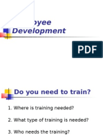 Training and Development 1