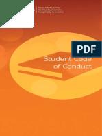 Anglis Student Conduct