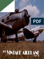 Vintage Airplane - Aug 1980