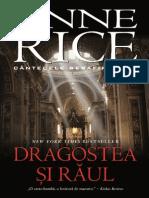Anne Rice - Cantecele Serafimului - Vol.2 - Dragostea Si Raul