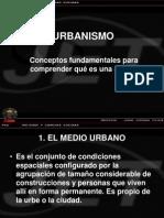 Urbanismo conceptos fundamentales