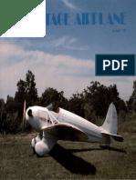 Vintage Airplane - Aug 1981