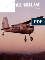 Vintage Airplane - Apr 1981