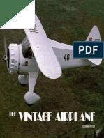 Vintage Airplane - Dec 1982