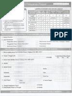 Form Pembuatan Paspor