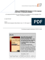 Conceptual EMIGRATION and IMMIGRATION Metaphors in the Language   Of the Press: a Contrastive Analysis