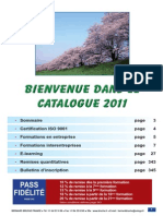 Catalogue Bruche Formations 2011