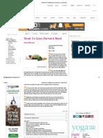 Head-To-Knee Forward Bend  Yoga Poses