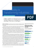 How Mobility is Transforming Industries