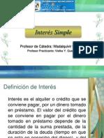 Interés Simple-Clase 5 y 6