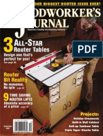Woodworkers Journal July August 2016 Us Column Beehive