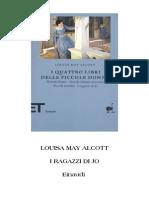 Alcott May Louisa - I Ragazzi Di Jo