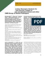Chemical Biology & Drug Design Volume 78 Issue 1 2011 [Doi 10.1111%2Fj.1747-0285.2011.01118.x] Debmalya Barh; Neha Jain; Sandeep Tiwari; Bibhu Prasad Parida; V -- A Novel Comparative Genomics Analysis for Common Drug A