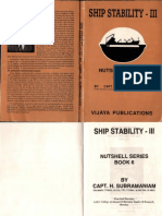 Ship Stability III by Capt. Subramaniam