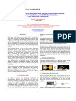 1_A Systematic Approach in Optimizing Critical Processes of High Density and High Complexity New Scalable Device...