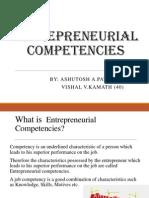 Entrepreneur Competencies