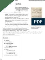 Newton's Laws of Motion - Wikipedia, The Free Encyclopedia