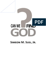 Can We Find God -S.M. Susi Jr.