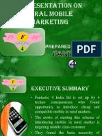 Presentation on Rural Mobile Marketing