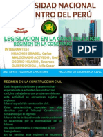 Regimen en La Construccion Civil - 2014