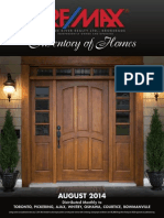 Inventory of Homes August 2014 Edition