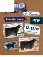 Steele Land & Livestock Female Sale Catalog