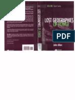 Lost Geographies of Power - Allen John