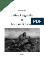 Marko Krajsic - Istina i legenda o boju na Kosovu