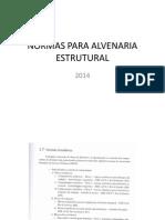 Normas Para Alvenaria Estrutural