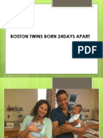 Twins 24days Apart