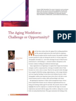 The Aging Workforce Challenge or Opportunity
