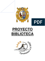 Proyecto Para La Biblioteca