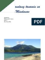Magagandang Tanawin Sa Mindanao