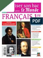 Reviser Son Bac Avec Le Monde FRANcAIS 1re Extrait
