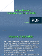 01 Introduction to Ab Initio