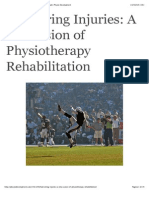 Hamstring Injuries a Discussion of Physiotherapy Rehab