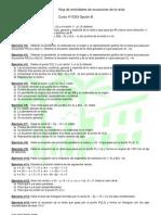 Hoja de actividades de ecuaciones de la recta (4º OP B)