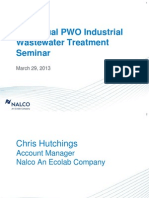 Water Clarification PWO Seminar 2013 - Nalco
