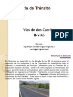 Clase 19-Vias Dos Carriles Colombiano